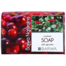Barwa Natural Cranberry Bar Soap With Glycerin  100 g