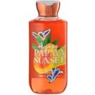 Bath & Body Works Agave Papaya Sunset żel pod prysznic dla kobiet 295 ml
