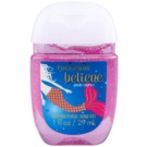 Bath & Body Works PocketBac Believe Pink Citrus antibakterielles Gel für die Hände mit Glitzerteilchen Believe Pink Citrus 29 ml
