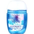 Bath & Body Works PocketBac Fresh Sparkling Snow antibakterielles Gel für die Hände  29 ml