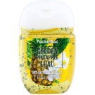 Bath & Body Works PocketBac Golden Pineapple Luau Antibacterial Hand Gel (Golden Pineapple Luau) 29 ml