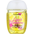 Bath & Body Works PocketBac Liquid Sunshine Gel antibacterial pentru maini.  29 ml