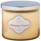 Bath & Body Works Mahagony Coconut vela perfumada  411 g
