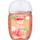 Bath & Body Works PocketBac Peach Bellini antibakterielles Gel für die Hände  29 ml