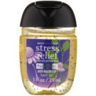 Bath & Body Works PocketBac Stress Relief antibakterielles Gel für die Hände (Aromatherapy, Eucalyptus Tea) 29 ml