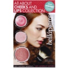 BelláPierre All About Cheeks and Lips Collection Coral Collection Cosmetic Set II.