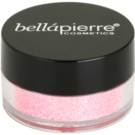 BelláPierre Cosmetic Glitter sclipici cosmetic culoare Light Pink 3,75 g