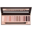 BelláPierre XII Go Natural Eye Shadow Palette With Mirror And Applicator  14 g