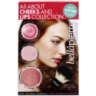 BelláPierre All About Cheeks and Lips Collection Pink Collection Cosmetic Set I.