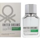 Benetton United Dream Men Aim High Eau de Toilette für Herren 100 ml