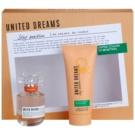 Benetton United Dream Stay Positive darilni set II. toaletna voda 50 ml + losjon za telo 100 ml