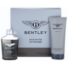 Bentley Infinite Intense set cadou I. Eau de Parfum 100 ml + Gel de dus 200 ml