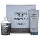 Bentley Infinite Intense ajándékszett I. Eau de Parfum 100 ml + tusfürdő gél 200 ml