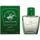 Beverly Hills Polo Club Green Colours Eau de Toilette para homens 100 ml