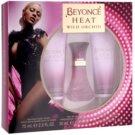 Beyonce Heat Wild Orchid dárková sada III.  parfemovaná voda 30 ml + tělové mléko 75 ml + sprchový gel 75 ml