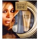 Beyonce Rise darčeková sada II. dezodorant s rozpračovačom 75 ml + telové mlieko 75 ml