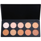 BHcosmetics 10 Color Concealer and Foundation Palette  20 g