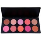 BHcosmetics 10 Color Blush Palette (10 Color) 35 g