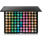BHcosmetics 88 Color Matte paleta de sombras  com espelho pequeno 88 Color  71 g