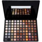 BHcosmetics 88 Color Neutral paleta de sombras  com espelho pequeno 61 g