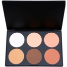 BHcosmetics Contour paleta de blushes tom 02 (6 Color Palette) 78 g