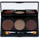 BHcosmetics Flawless Augenbrauen-Set Farbton Medium 3,1 + 1,2 g