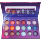 BHcosmetics Galaxy Chic paleta cieni do powiek (18 Color Baked Eye Shadow Palette) 32 g