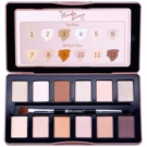 BHcosmetics Nude Rose paleta cieni do powiek z aplikatorem (12 Color Eyeshadow Palette) 12 g