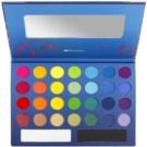 BHcosmetics Take Me To Brazil Palette mit Lidschatten mit Spiegel  28 g