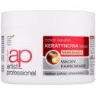Bielenda Artisti Professional Color Keratin зволожуюча маска для фарбованого волосся 200 мл
