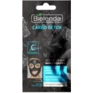 Bielenda Carbo Detox Cleansing Mask with Activated Charcoal For Dry To Sensitive Skin  8 g