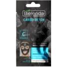 Bielenda Carbo Detox очищуюча маска з активованим вугіллям для сухої та чутливої шкіри  8 гр