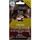 Bielenda Eco Care White Clay bioorganická maska na obličej, krk a dekolt  2 x 5 g