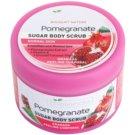 Bielenda Pomergranate Hautpeeling mit Zucker Feuchtigkeit spendend  200 g