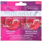 Bielenda Pomergranate Exfoliating Mask For Intense Hydration  2 x 5 g