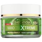 Bielenda Nano Cell Xtreme 65+ денний відновлюючий крем SPF 8 (Advanced NANO Gold & PCT Technology) 50 мл