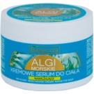 Bielenda Sea Algae Moisturizing krémové sérum na tělo pro vypnutí pokožky (Rich Sea Formula -