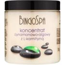 BingoSpa Cinnamon & Algae zeštíhlující koncentrát s L- karnitinem 250 g