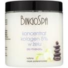 BingoSpa Collagen gélový masážny koncentrát (Caffeine and Orange Oil) 250 g