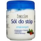 BingoSpa Guarana & Dead Sea Minerals сіль для ванни для втомлених ніг 550 гр