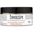 BingoSpa Mud intenzivní peeling na obličej s minerály z Mrtvého moře (Glycolic Acid, Lactic Acid and Alpha Hydroxy Acid - AHA) 100 g