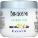 BingoSpa Tahitian Noni Exfoliant pentru corp cu particule cristaline  550 g