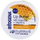 Biogena Lip Butter Soothing Honey pielęgnujące masełko do ust SPF 20 (Argan Oil and Vitamin E) 2,5 g