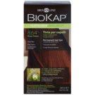 Biokap Nutricolor Delicato+ permanentna barva za lase z arganovim oljem brez dišav odtenek 8.64+ Titian Red (Tricorepair Complex) 140 ml