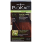 Biokap Nutricolor Delicato+ tinte permanente para cabello con aceite de argán sin perfume tono 8.64+ Titian Red (Tricorepair Complex) 140 ml