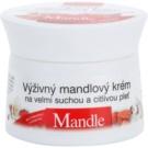 Bione Cosmetics Almonds crema nutritiva  para pieles muy secas y sensibles 51 ml