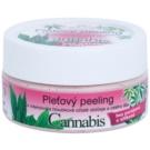 Bione Cosmetics Cannabis pleťový peeling na tvár a telo  200 g