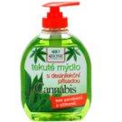 Bione Cosmetics Cannabis antibakteriálne mydlo na ruky (Parabens and Silicons Free) 300 ml