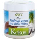 Bione Cosmetics Coconut creme de rosto familiar com coco  260 ml