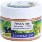 Bione Cosmetics Grapes creme de rosto familiar sem parabenos  260 ml